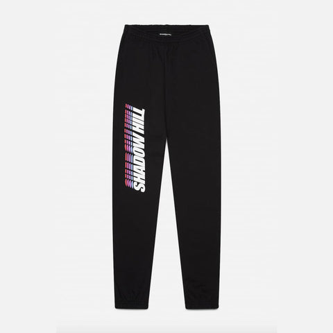 BLACK GRADIENT SWEATPANTS