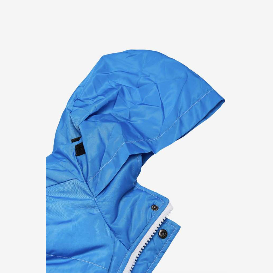 BLUE SNOW PUFFER JACKET