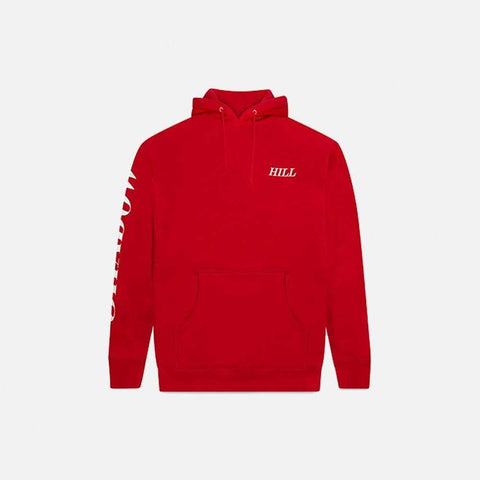 Candy Red Foil pullover