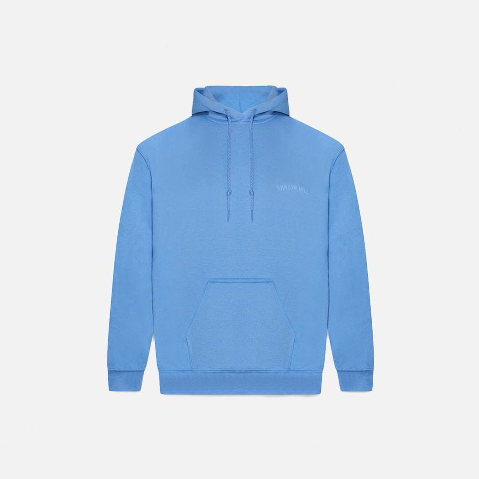 Carolina Blue Oversized Merch Hoodie
