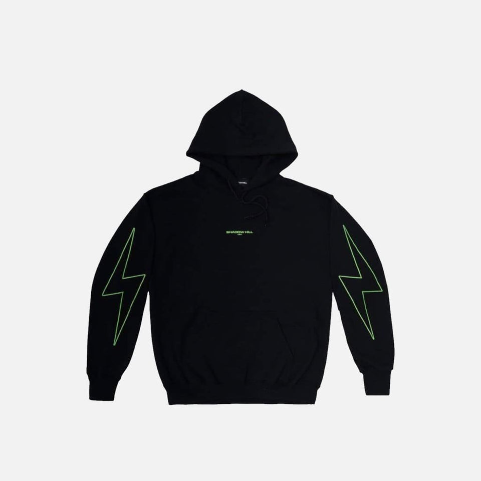 GREEN METALLIC FLASH PULLOVER II