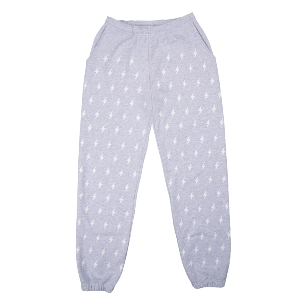 GREY BOLT SWEATPANTS