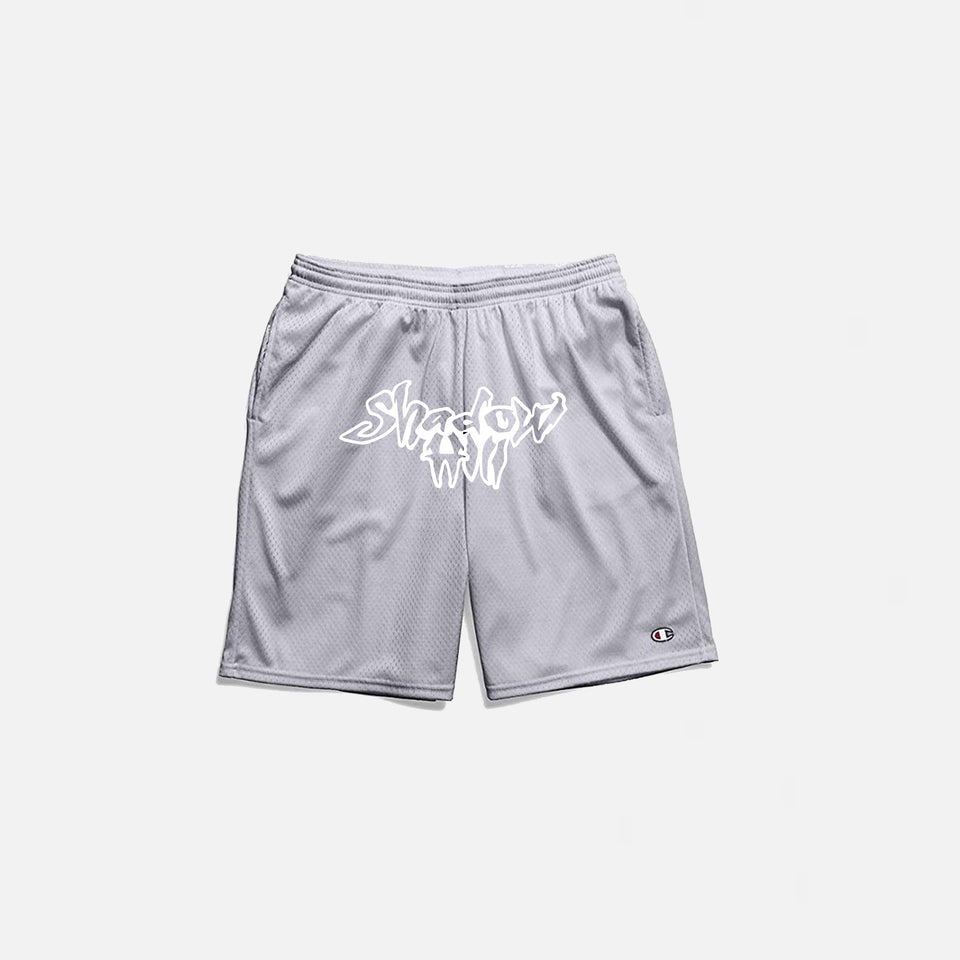 SILVER SLIME MESH SHORTS
