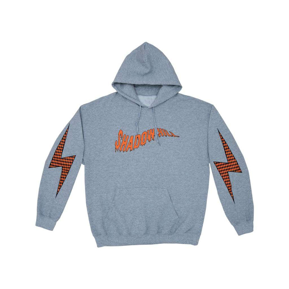HEATHER GRAY DIAMOND CUT FLASH HOODIE
