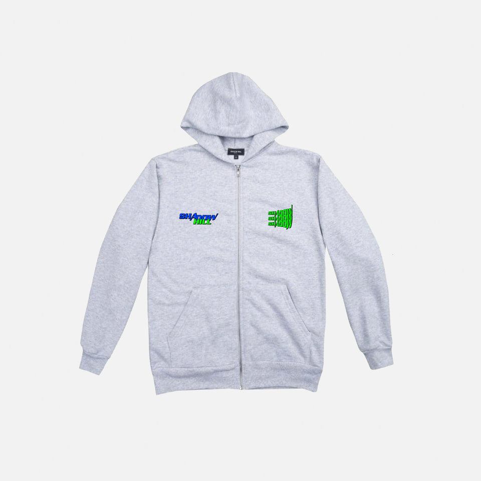 ASH STEEL ELITE ZIP UP HOODIE