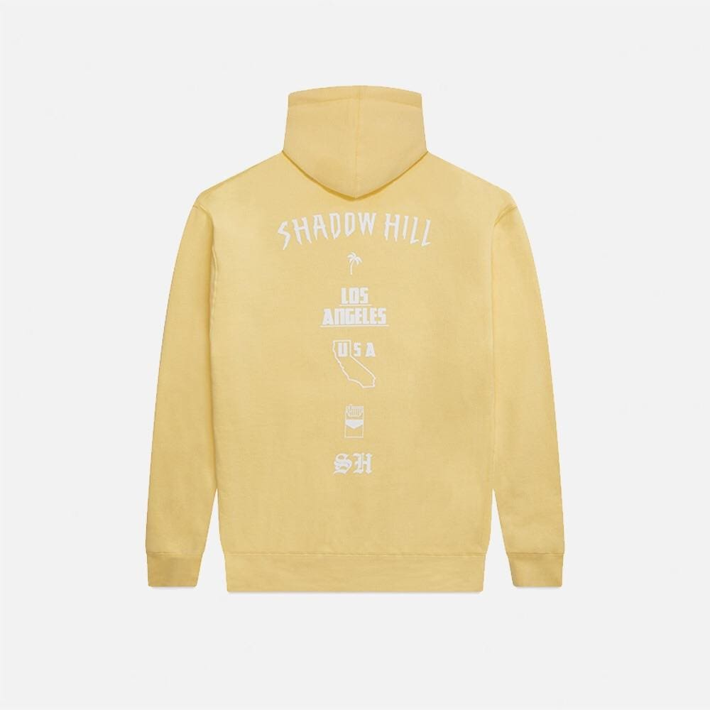 LIGHT BUTTER OVERSIZED MERCH HOODIE