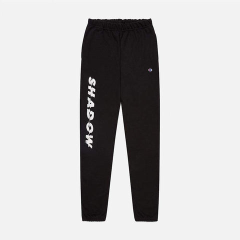 METALLIC SILVER REVERSE WEAVE SWEATPANTS