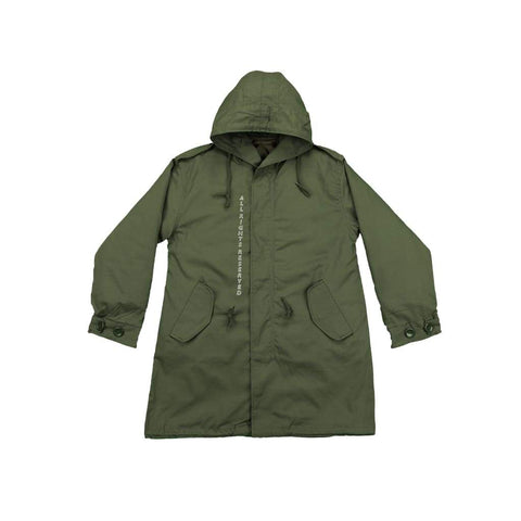MILITARY FORESHADOW FISHTAIL PARKA