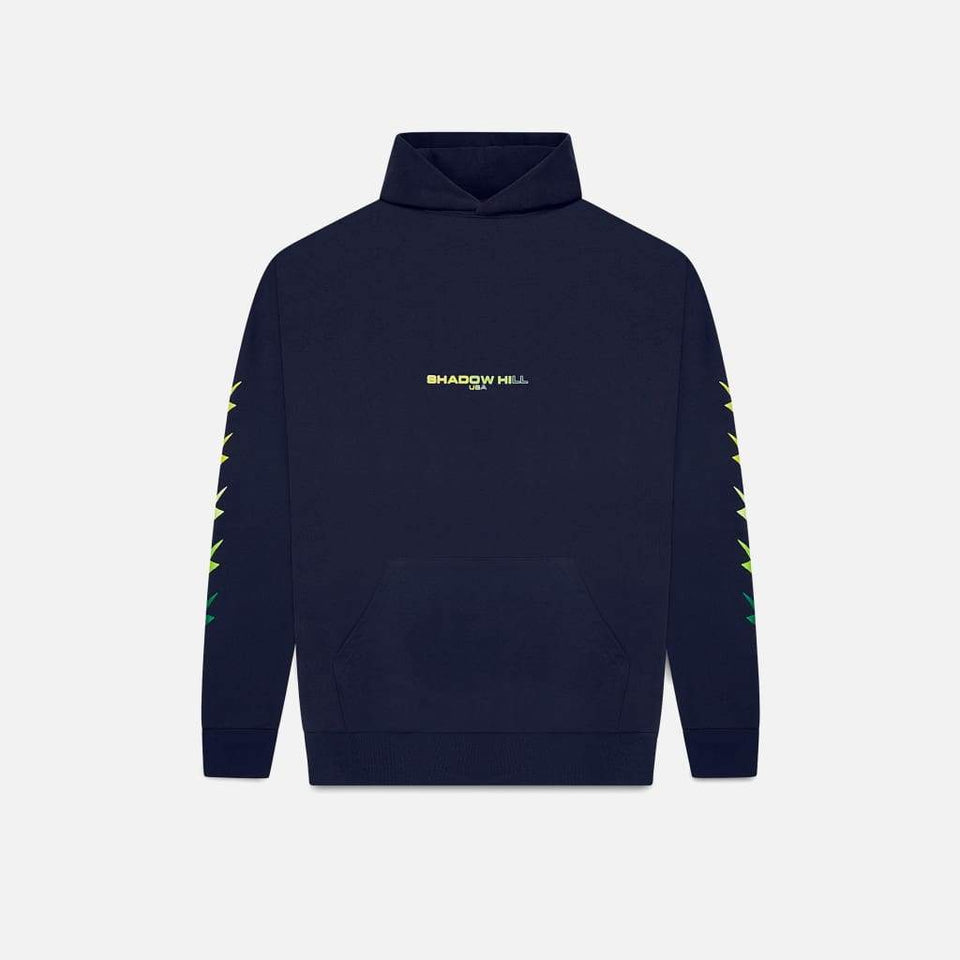 NAVY GRADIENT ENERGY PULLOVER