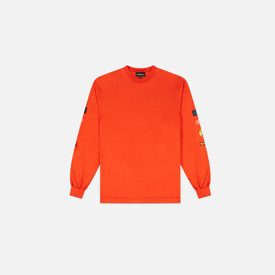 ORANGE WORKSHOP LONG SLEEVE SHIRT