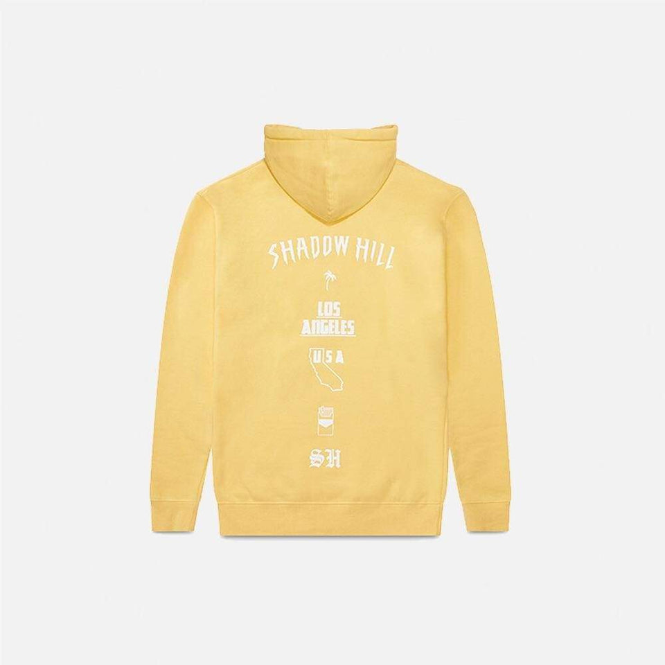 Peach Oversized Merch Hoodie