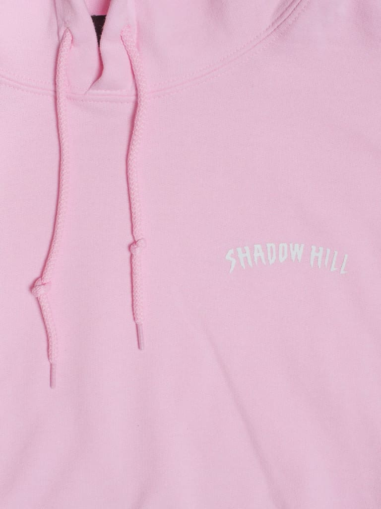 Pink Rose Oversized Merch Hoodie