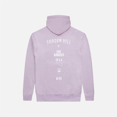 PURPLE CRYSTAL OVERSIZED MERCH HOODIE