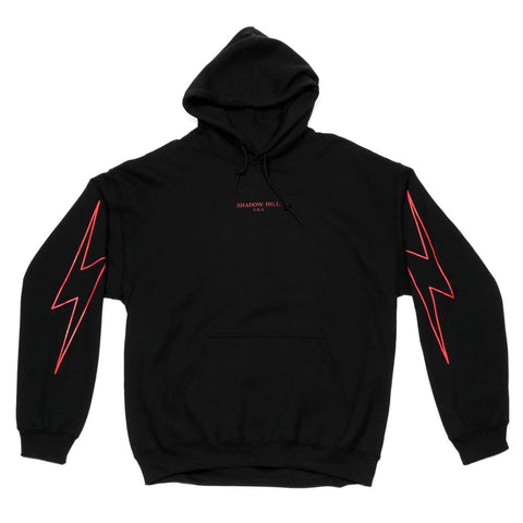 RED GLOW FLASH HOODIE Small Hoodie