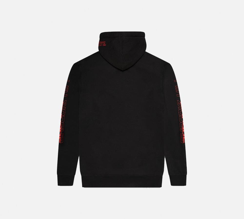 RED OUT OF CONTROL PULLOVER