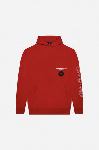 RED PREMIUM SUPPLY HOODIE