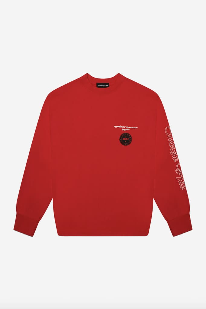 RED PREMIUM SUPPLY LONG SLEEVE