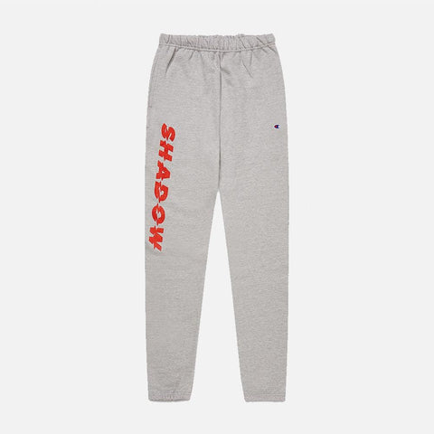 RED ROSE REVERSE WEAVE SWEATPANTS