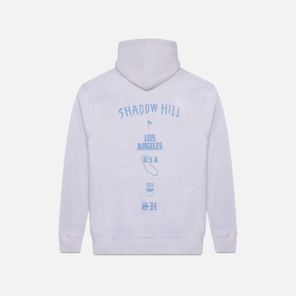 REVERSE CAROLINA BLUE OVERSIZED MERCH HOODIE