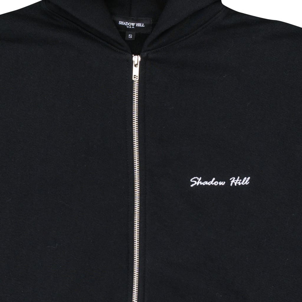 SLATE BLACK LOS ANGELES ZIP UP