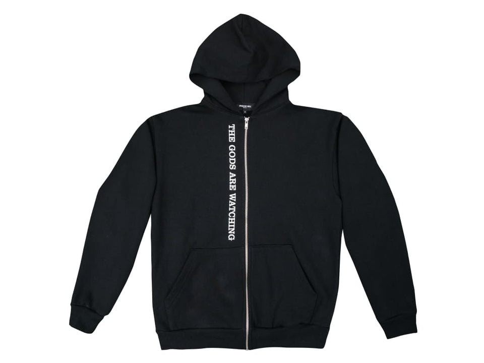 STONE BLACK OFFICIAL ZIP UP