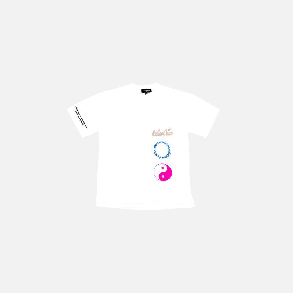 WHITE STUCCO T-SHIRT