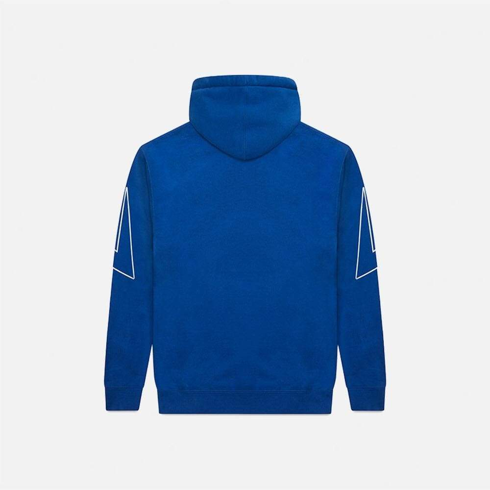 WHITE COBALT FLASH PULLOVER III