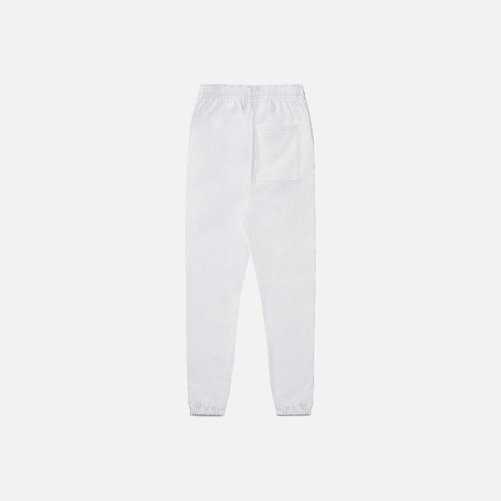 WHITE STEEL ELITE SWEATPANTS
