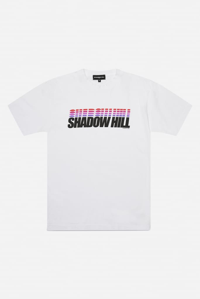 WHITE GRADIENT T-SHIRT