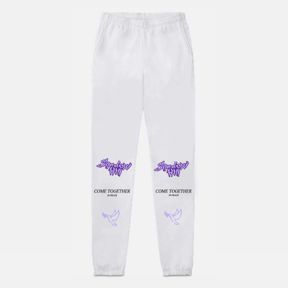 WHITE DOVE SWEATPANTS