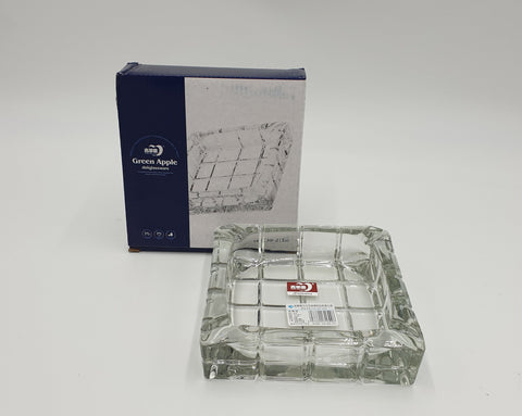 GLASS ASHTRAY-LARGE #KD-298
