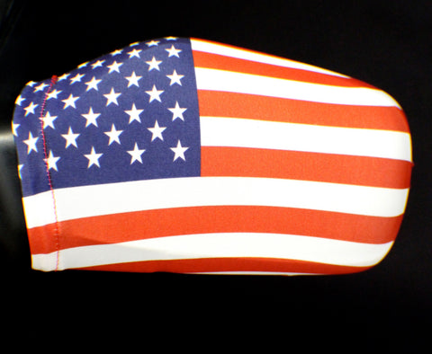 American Flag Side View Mirror Covers