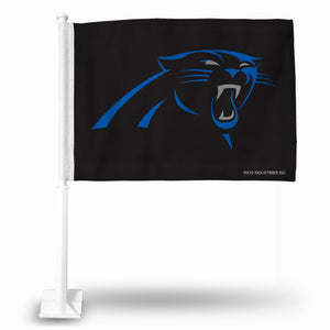 CAR PANTHERS CAR FLAG