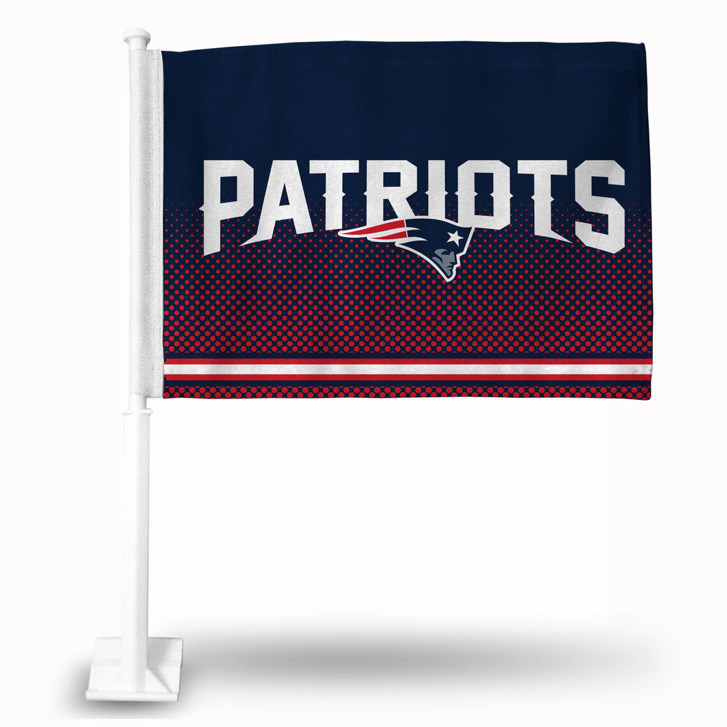 PATRIOTS CAR FLAG
