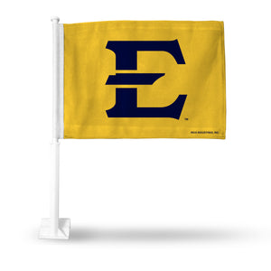 EAST TENNESSEE STATE CAR FLAG-(SECONDARY)