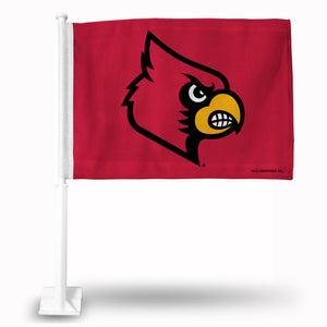 LOUISVILLE PRIMARY LOGO RED CAR FLAG