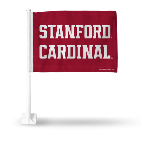 STANFORD CAR FLAG SECONDARY LOGO