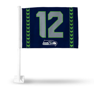 JERSEY 12 CAR FLAG-SEATTLE SEAHAWKS