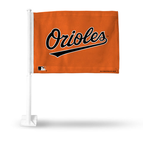 BALTIMORE ORIOLES SECONDARY DESIGN CAR FLAG