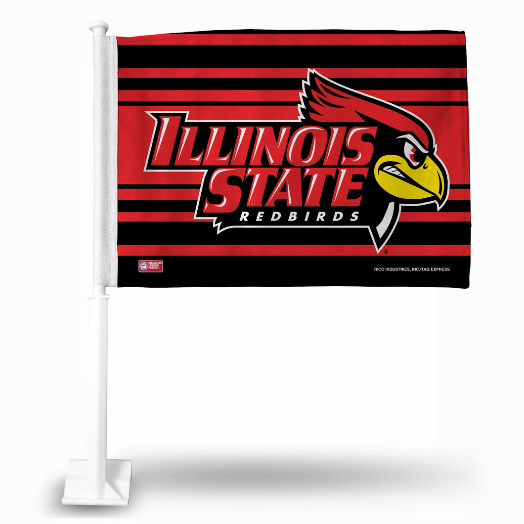ILLINOIS STATE CAR FLAG