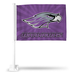 WISCONSIN WHITEWATER CAR FLAG