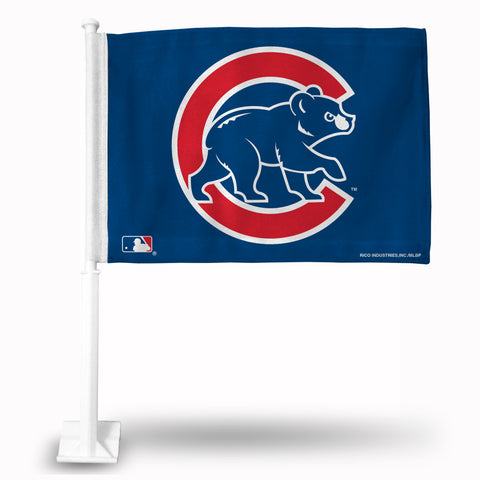 CHICAGO CUBS SECONDARY DESIGN CAR FLAG