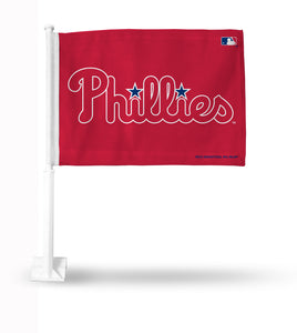 PHILLIES WORD MARK RED BKG