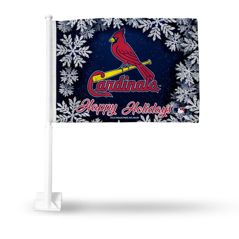CARDINALS - SL HOLIDAY THEMED CAR FLAG