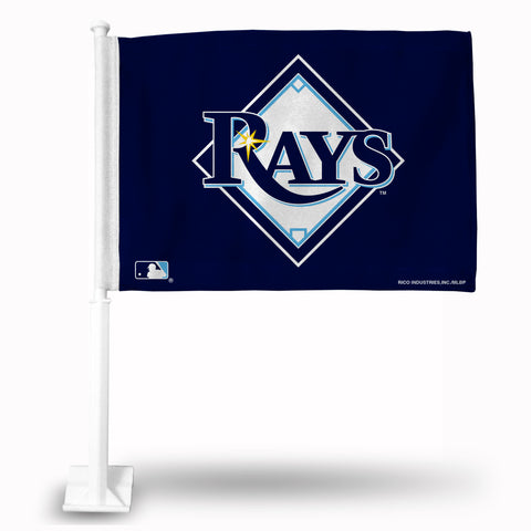 TAMPA BAY RAYS SECONDARY DESIGN CAR FLAG