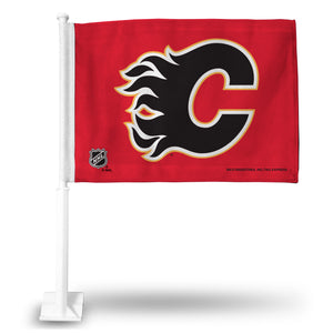 CALGARY FLAMES CAR FLAG