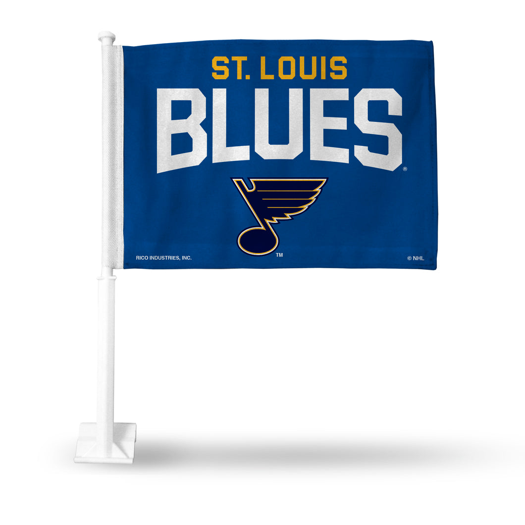 BLUES SECONDARY DESIGN CAR FLAG