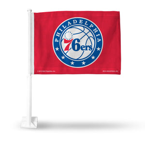 76ERS CAR FLAG