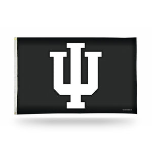 INDIANA UNIVERSITY - CARBON FIBER DESIGN - BANNER FLAG (3X5)