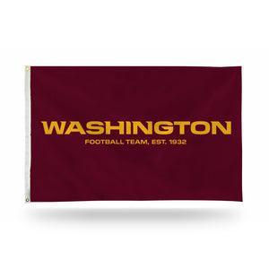 WASHINGTON FOOTBALL TEAM BANNER FLAG